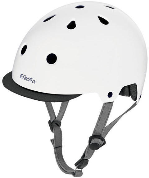 Electra Solid Color Helmet Color: Gloss White