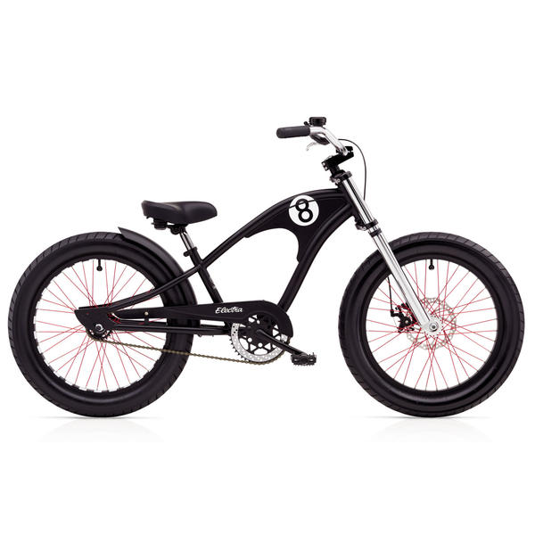 Electra Straight 8 1 (20-inch) - Boy's Color: Matte Black