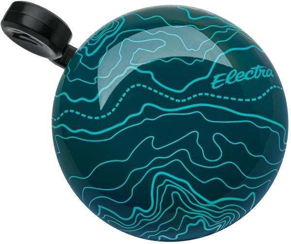 Electra Terrain Domed Ringer Bell Color: Dark Blue