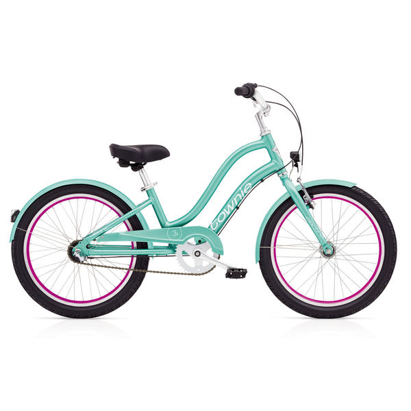 Electra Townie 3i EQ (20-inch) - Girls' Color: Emerald