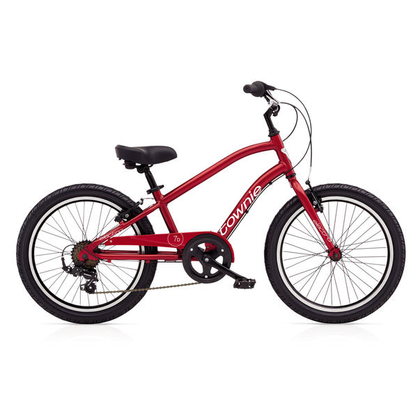 Electra Townie 7D (20-inch) - Boys' Color: Electric Red