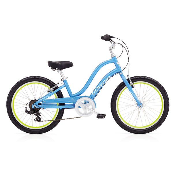 Electra Townie 7D (20-inch) - Girls' Color: Blue Topaz