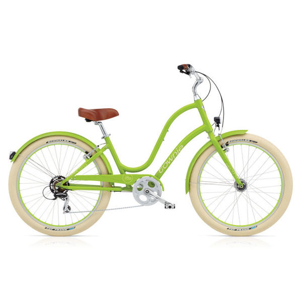 Electra Townie Balloon 8D EQ Ladies' Color: Lime