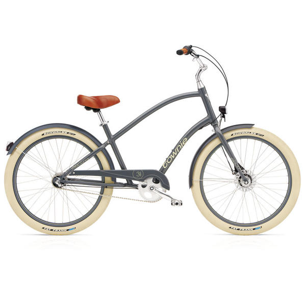Electra Townie Balloon 7i EQ Color: Slate Blue