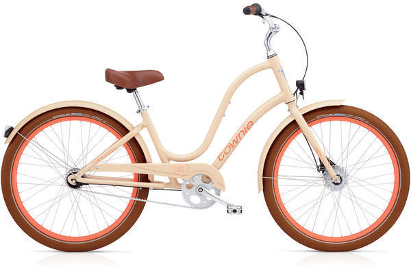 Electra Townie Balloon 7i EQ Step-Thru Color: Nude