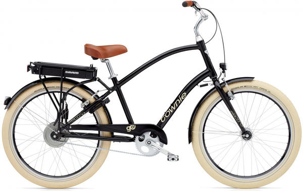 Electra Townie Go! Color: Ebony