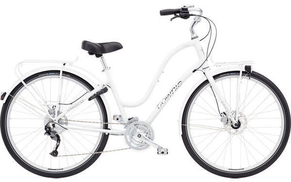 Electra Townie Commute 27D Step-Thru Color: White