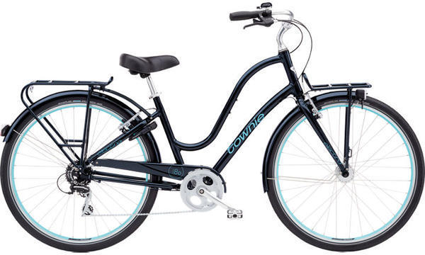 Electra Townie Commute 8D Step-Thru Color: Galaxy Black