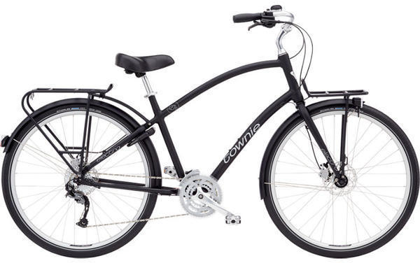 Electra Townie Commute 27D Step-Over Color: Black Satin
