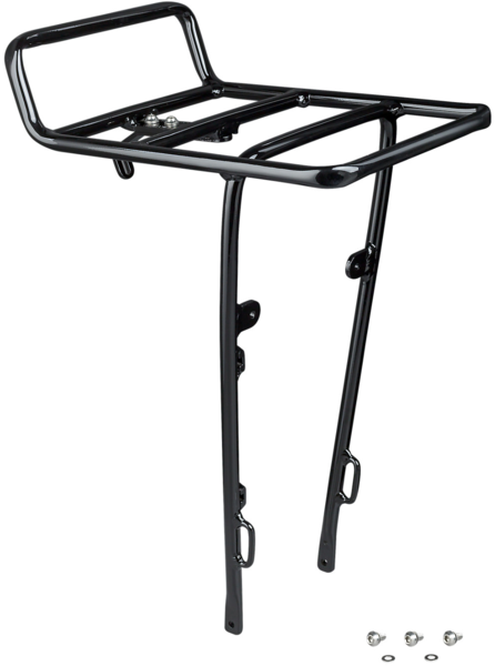 Electra Townie Commute Front Rack Color: Black