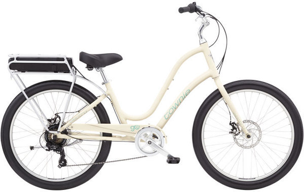 Electra Townie Go! 7D Step-Thru Color: Cream