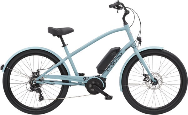 Electra Townie Go! 8D EQ Step-Over Color: Matte Cadet Blue