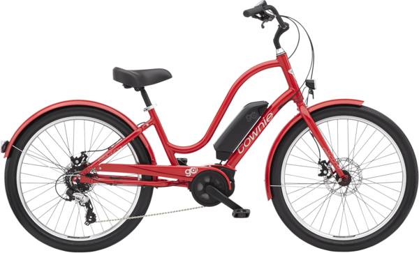 Electra Townie Go! 8D EQ Step-Thru Color: Chili Red