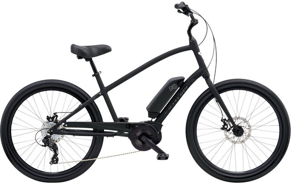 Electra Townie Go! 8D Step-Over Color: Matte Black