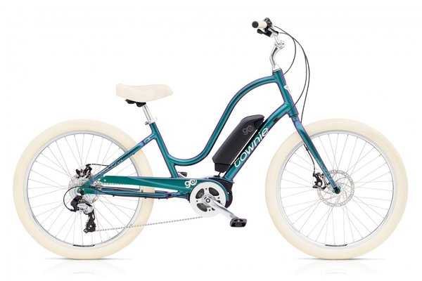 Electra Townie Go! 8D Step-Thru Color: Aurora Metallic