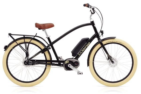 Electra Townie Go! 8i Color: Ebony