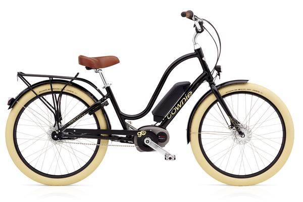 Electra Townie Go! 8i Ladies' Color: Ebony