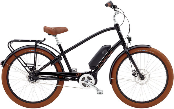 Electra Townie Go! 8i Step-Over Color: Black