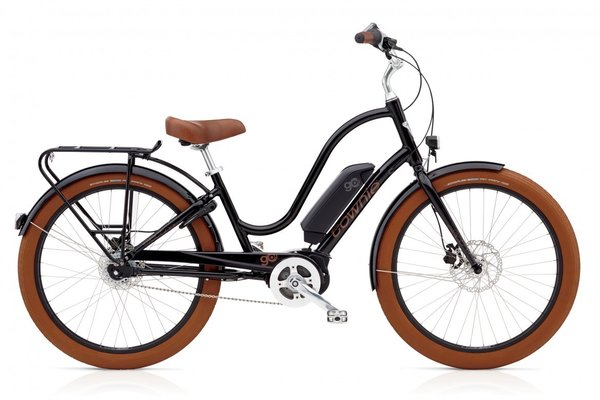 Electra Townie Go! 8i Step-Thru Color: Black