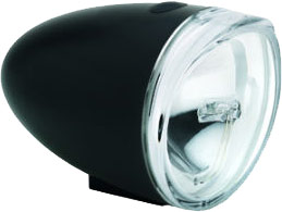 Electra LED Bullet Headlight Color: Black