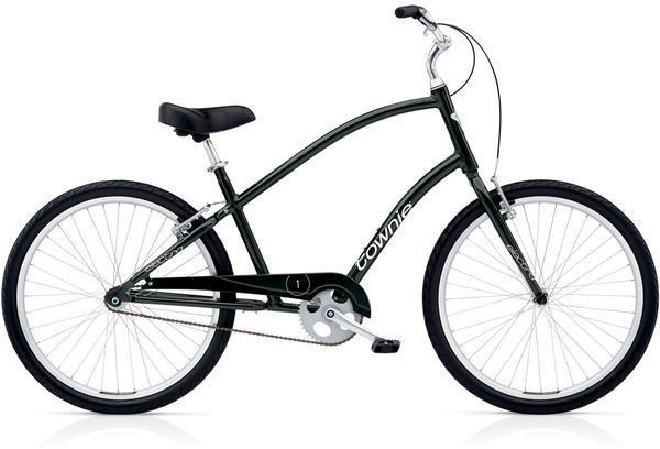 Electra Townie Original 1 Step-Over Color: Black