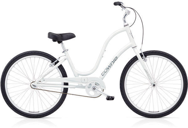 Electra Townie Original 1 Step-Thru Color: White