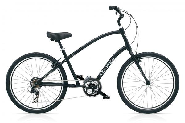 Electra Townie Original 21D Color: Black Satin