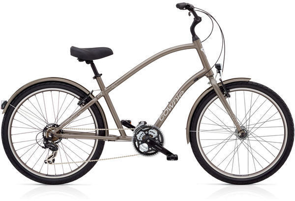 Electra Townie Original 21D EQ Color: Stout Metallic
