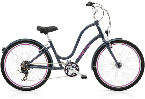 Electra Townie Original 21D EQ Ladies' Color: Seal Grey