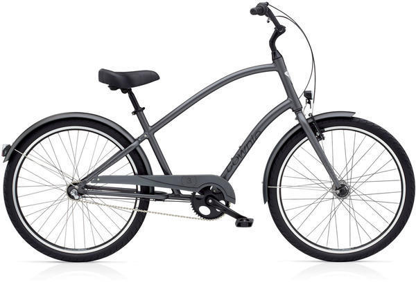 Electra Townie Original 3i EQ Step-Over Color: Satin Graphite