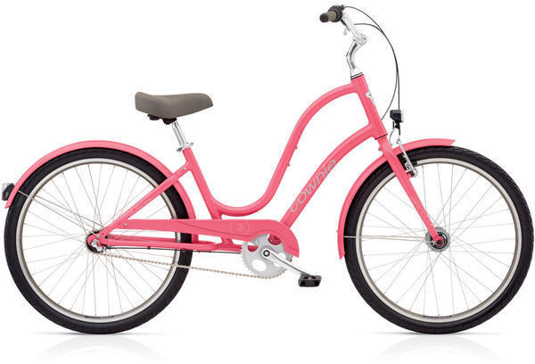 Electra Townie Original 3i EQ Step-Thru Color: Grapefruit