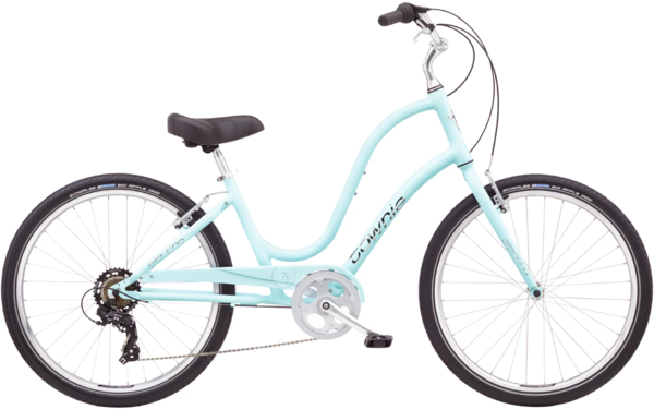 Electra Townie Original 7D 24-inch Step-Thru Color: Arctic Blue