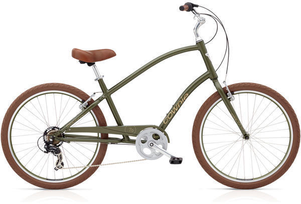 Electra Townie Original Step-Over Color: Matte Khaki