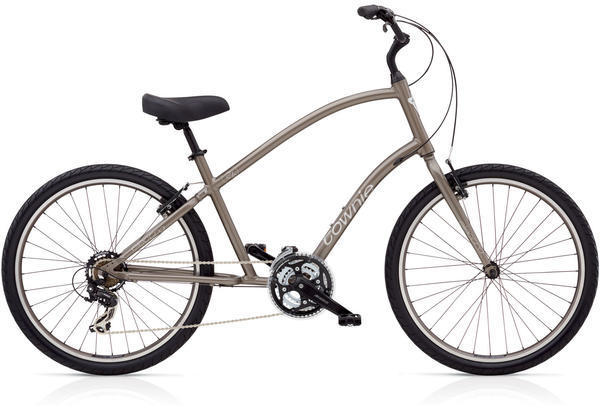 Electra Townie Original 21D Color: Stout Metallic
