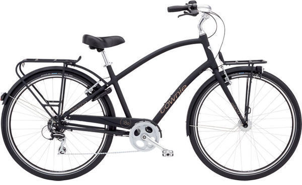 Electra Townie Commute 8D Step-Over Color: Matte Black