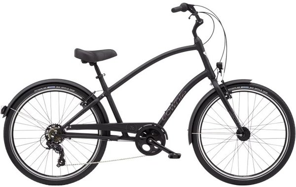 Electra Townie Original 7D EQ 26-inch Step-Over Color: Matte Black
