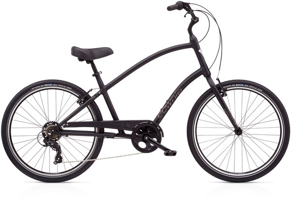 Electra Townie Original 7D Step-Over Color: Matte Black