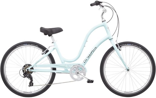 Electra Townie Original 7D Step-Thru Color: Arctic Blue
