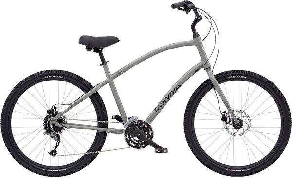 Electra Townie Path 27D Step-Over Color: Nardo Grey