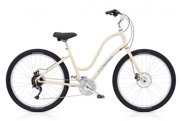 Electra Townie Path 27D Step-Thru Color: Cream