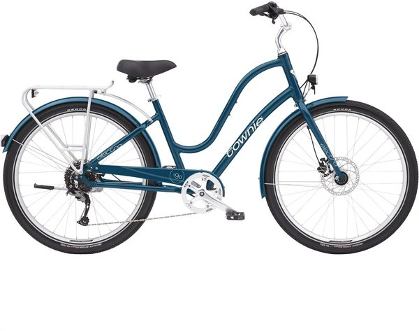 Electra Townie Path 9D EQ Step-Thru Color: Dusk