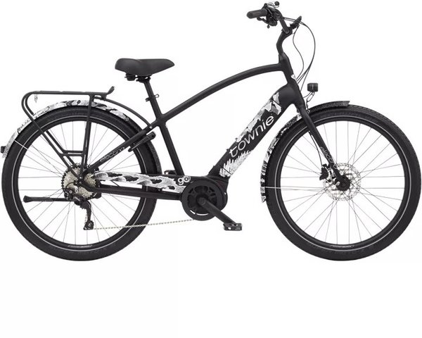 Electra Townie Path Go! 10D Step-Over Color: Black