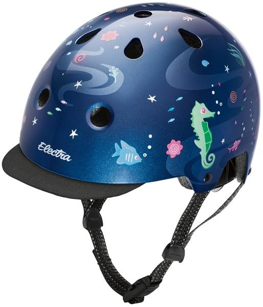 Electra Under the Sea Helmet Color: Ocean Blue