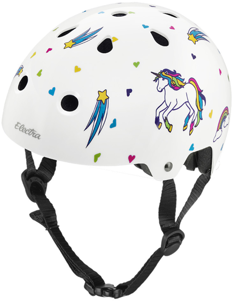 Electra Unicorn Lifestyle Bike Helmet Color: White