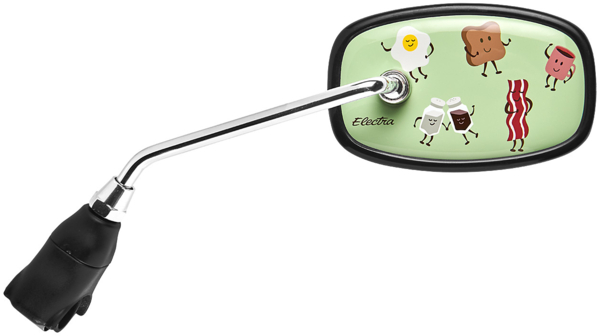 Electra Wakey Wakey Cruiser Handlebar Mirror Color: Mint