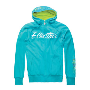 Electra Women's Green Flash Hoodie