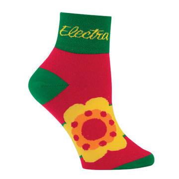 Electra Women's One Flower Socks