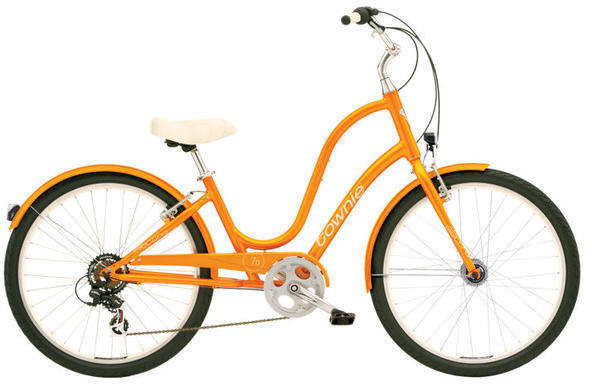 Electra Townie Original 7D EQ - Women's Color: Orange Pearl