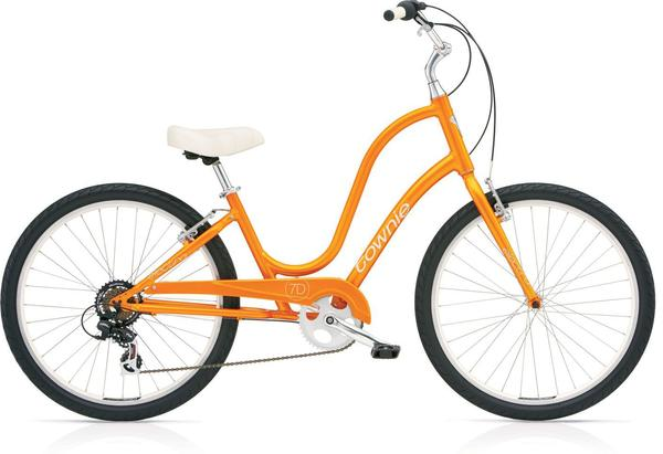 Electra Women's Townie Original 7D Color: Orange Pearl