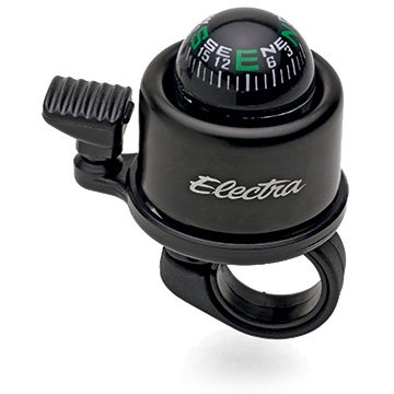 Electra Compass Bell Color: Black